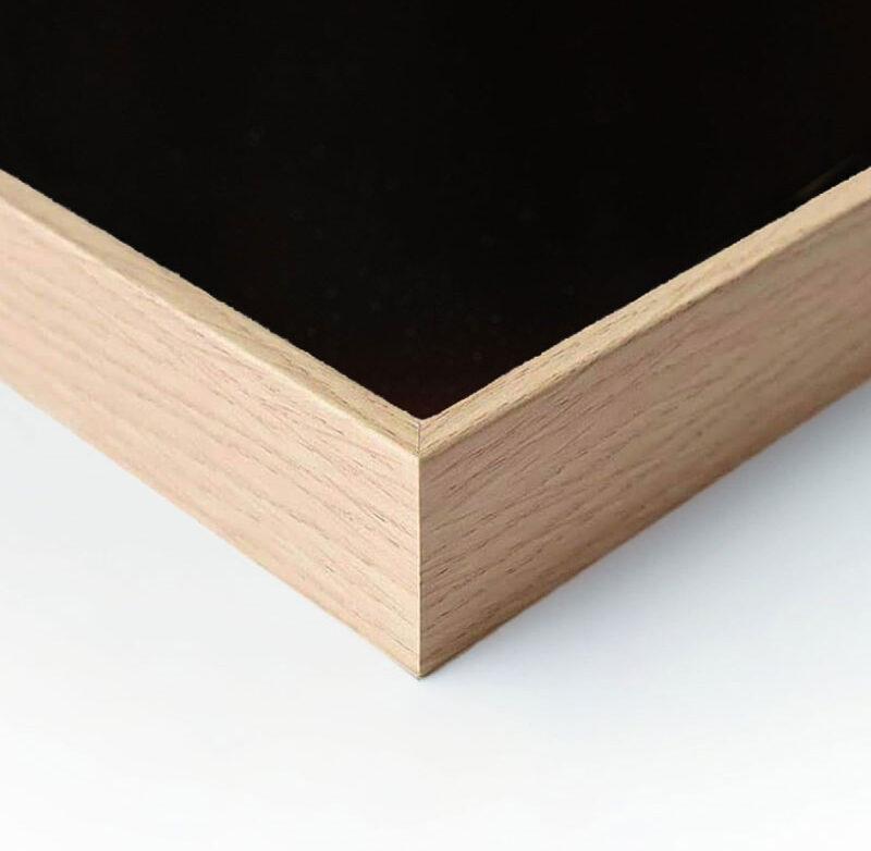 Plaqué bois chêne naturel